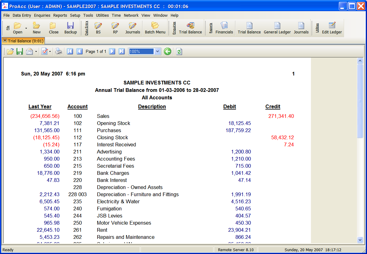 Displaying 17> Images For - Trial Balance Template...